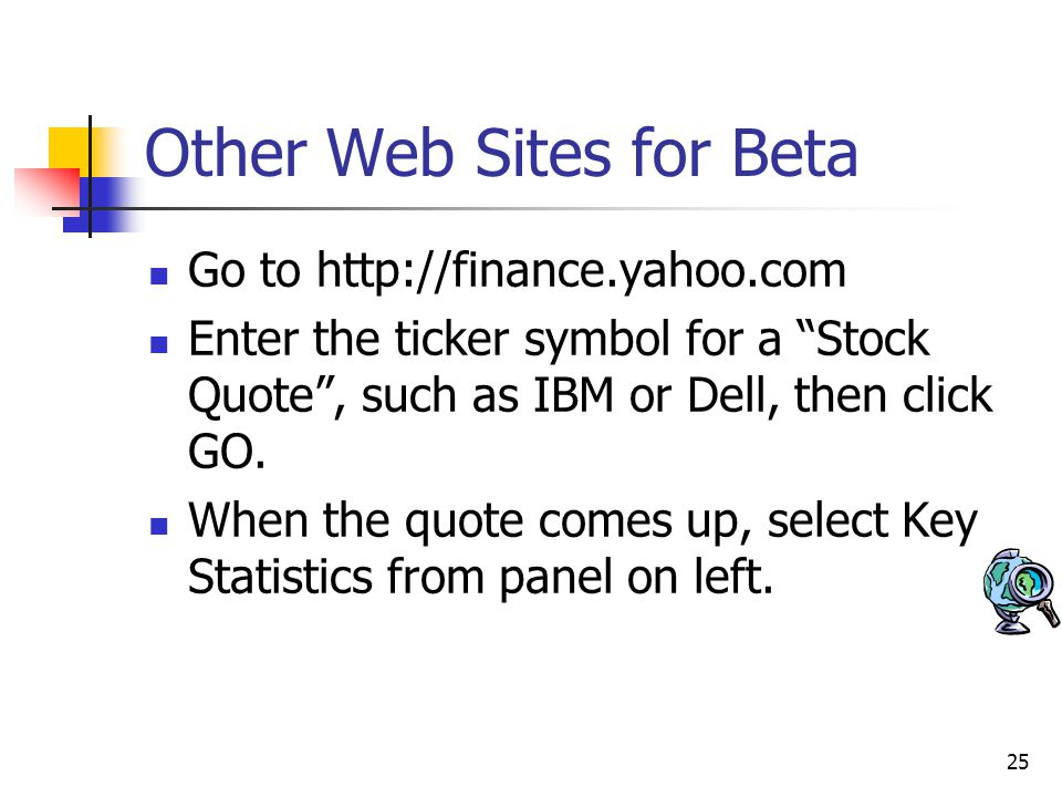 Other Web Sites for Beta