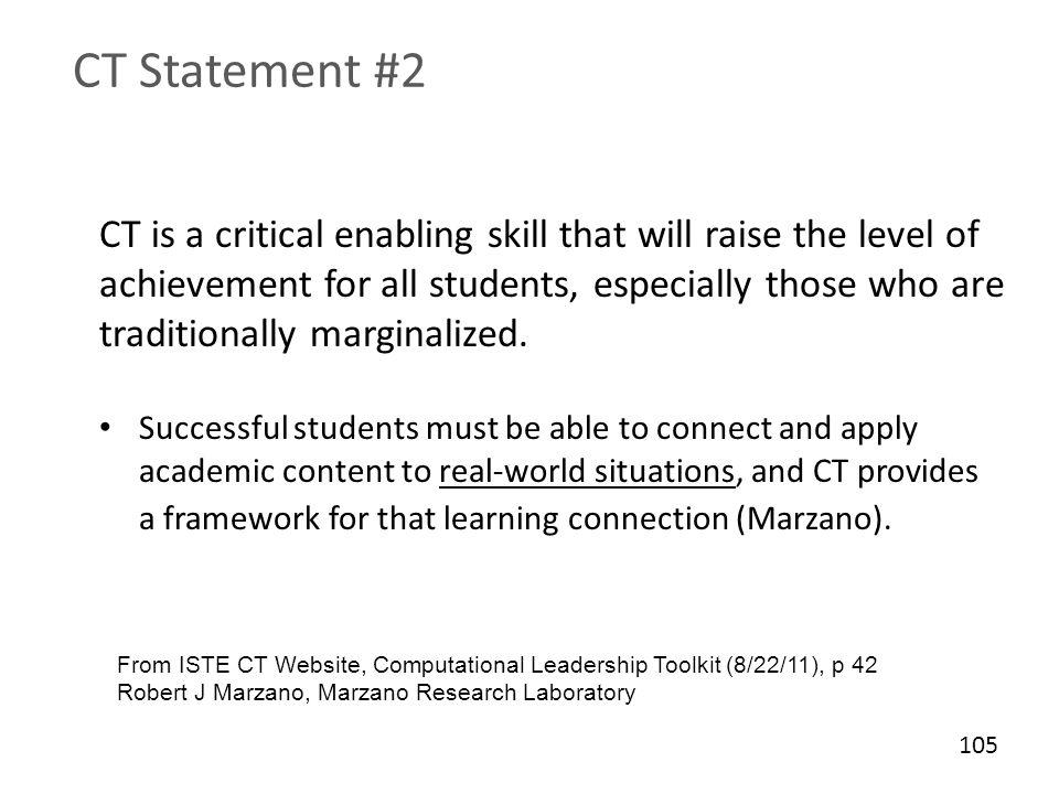 CT Statement #2