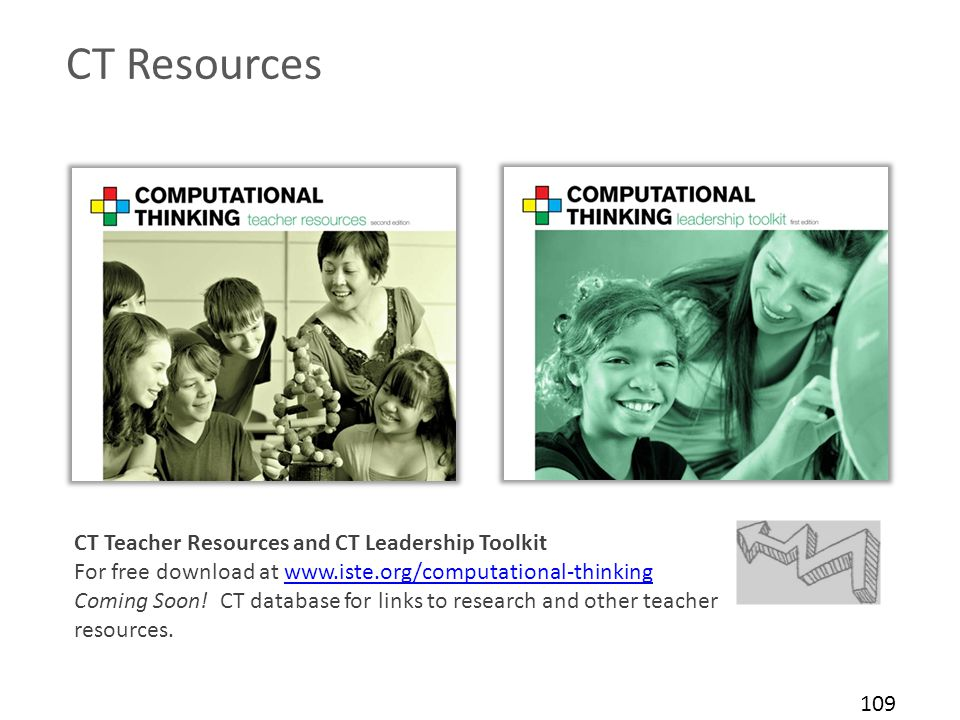 CT Resources CT Teacher Resources and CT Leadership Toolkit