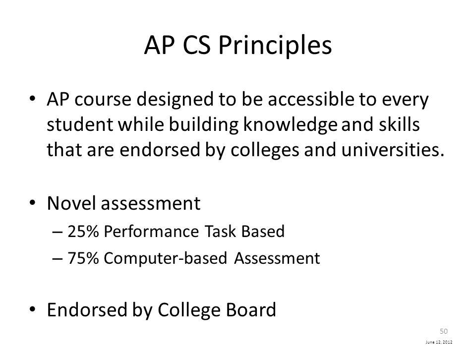 AP CS Principles