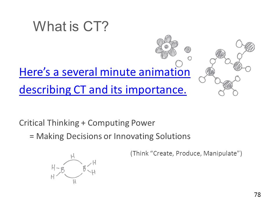 What is CT Here's a several minute animation