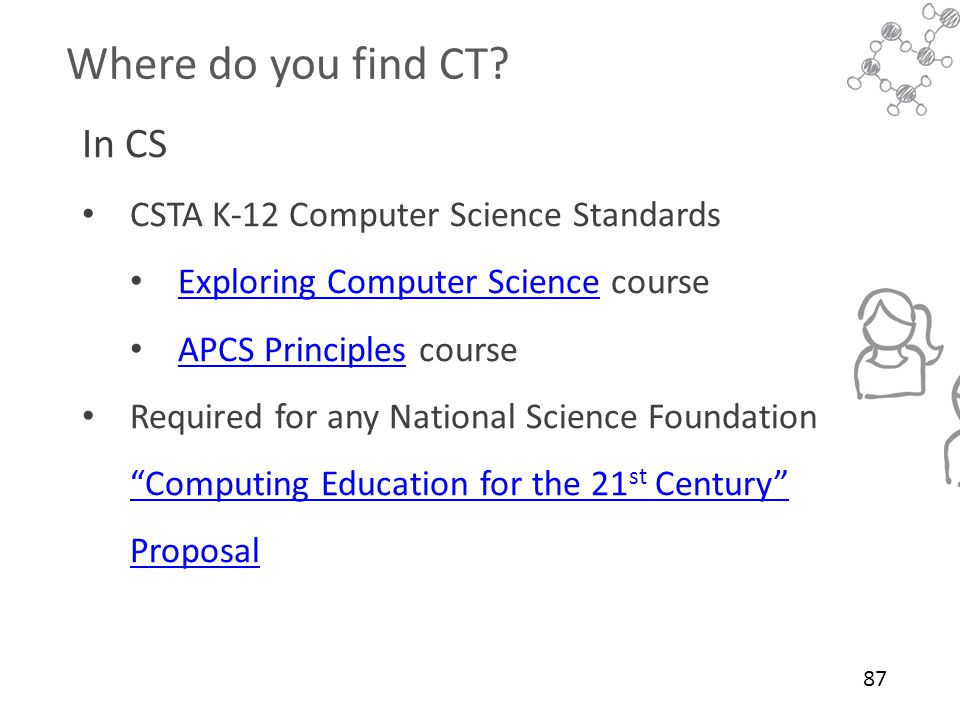 Where do you find CT In CS CSTA K-12 Computer Science Standards