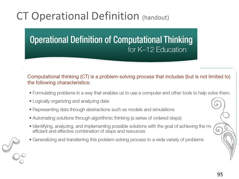 CT Operational Definition (handout)