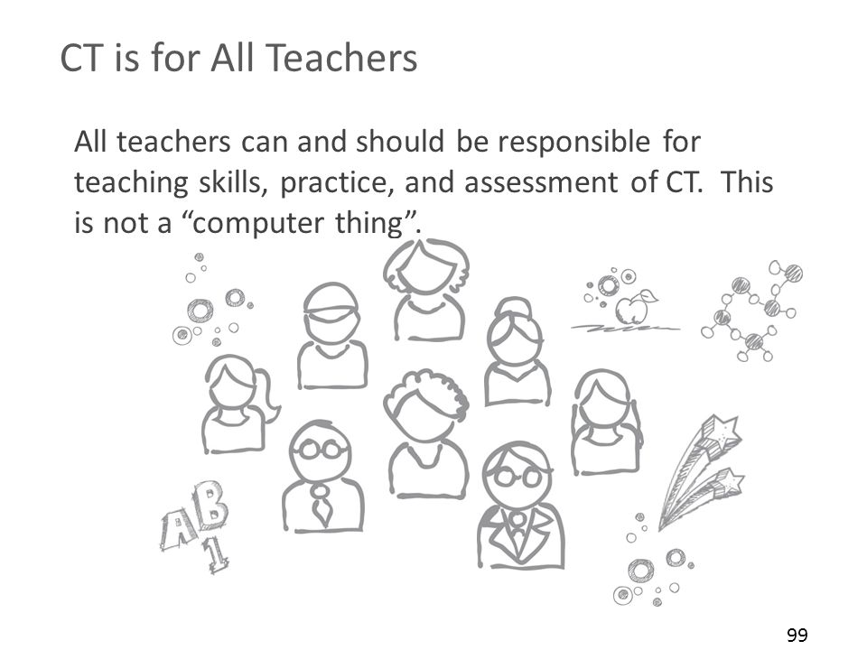 CT is for All Teachers