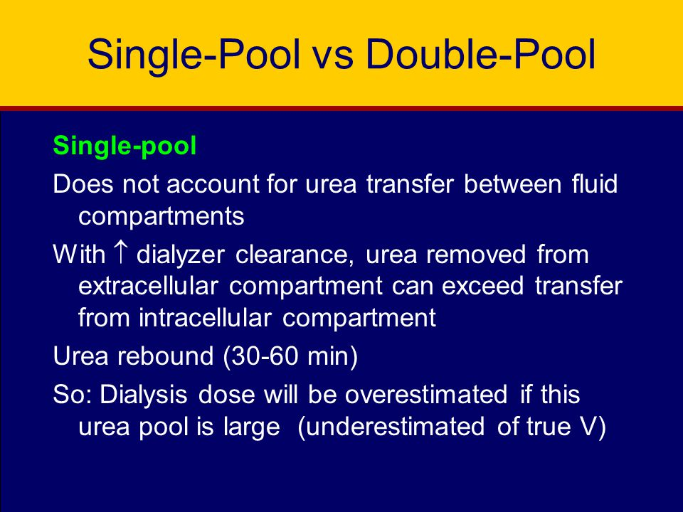 Single-Pool vs Double-Pool