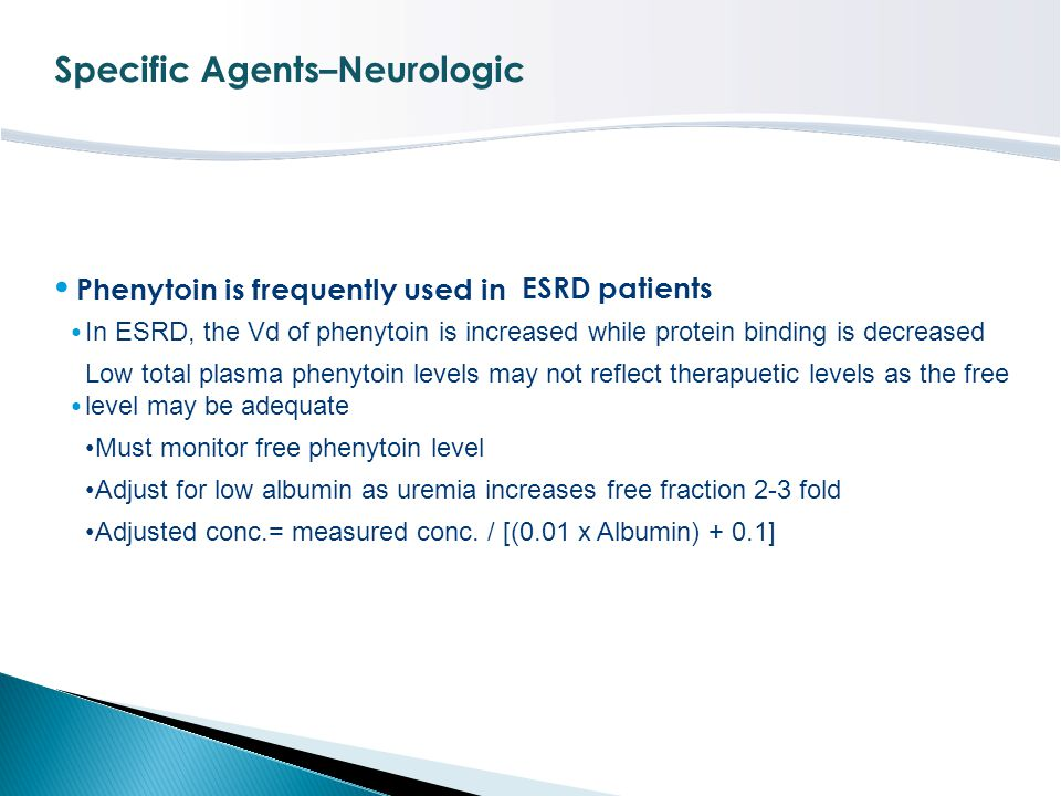 Specific Agents–Neurologic