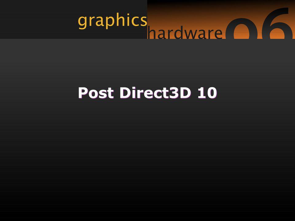 Post Direct3D 10