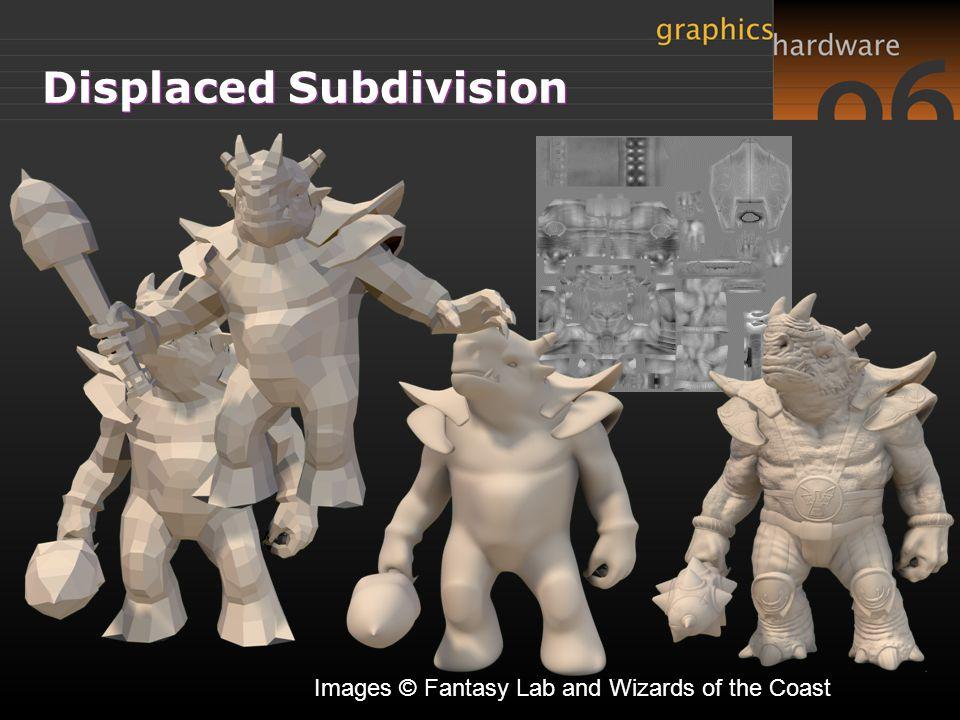 Displaced Subdivision