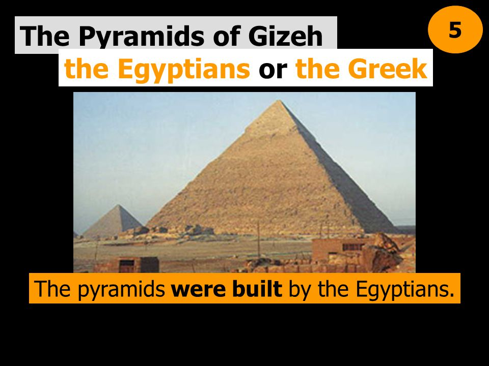 the Egyptians or the Greek