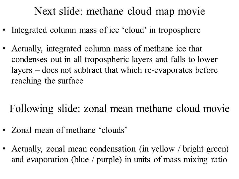 Next slide: methane cloud map movie