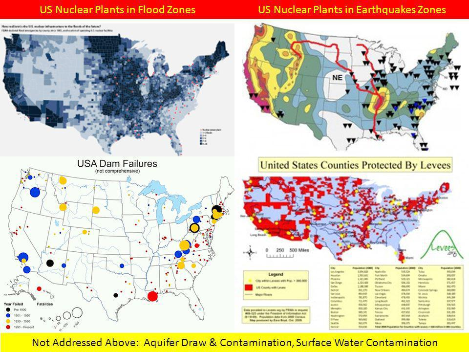 US Nuclear Plants in Flood Zones