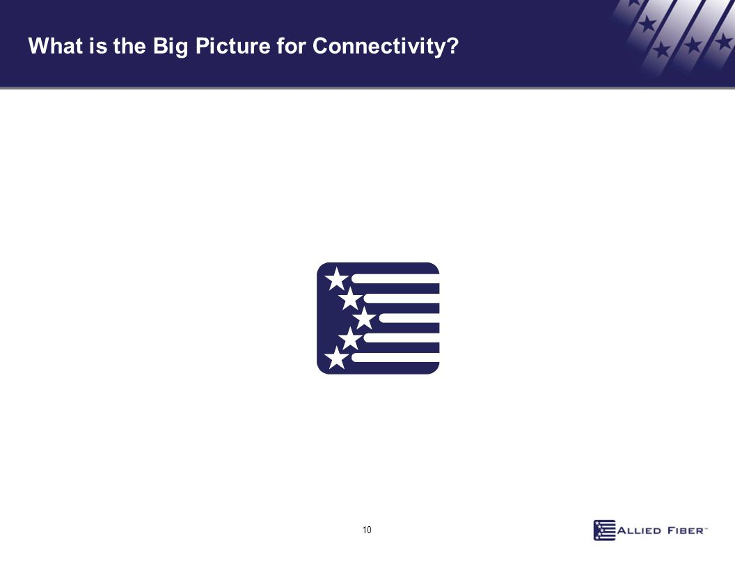 What is the Big Picture for Connectivity