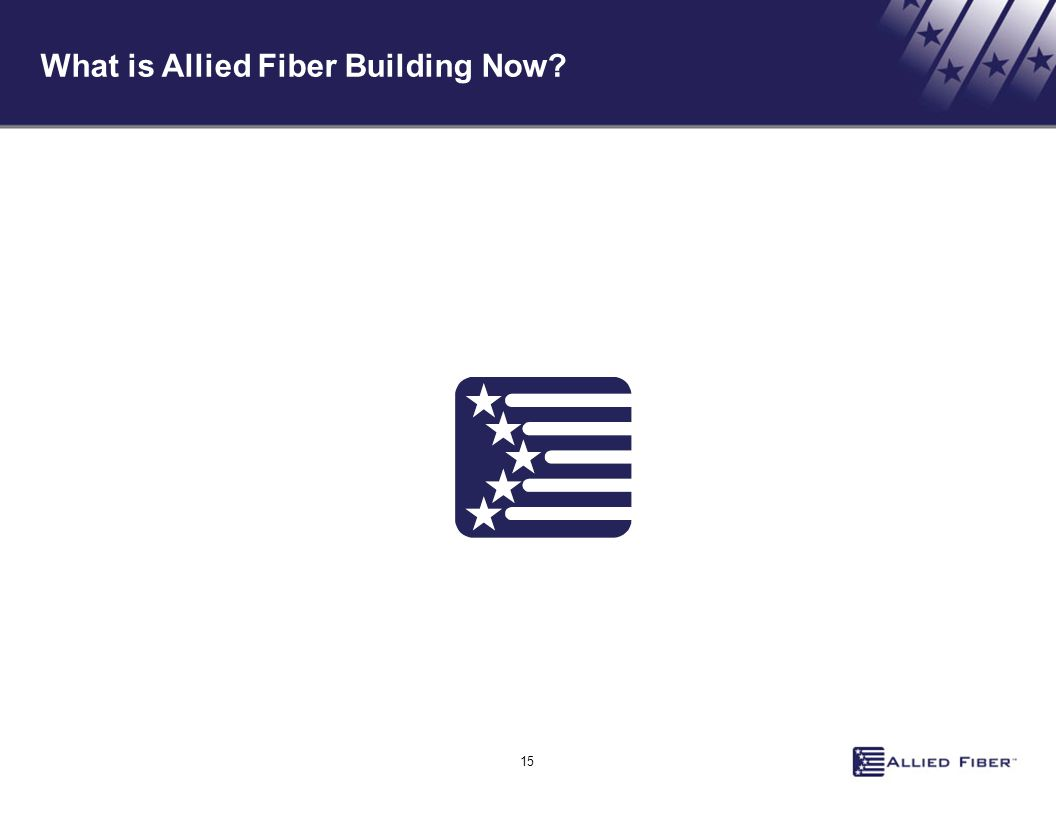 What is Allied Fiber Building Now