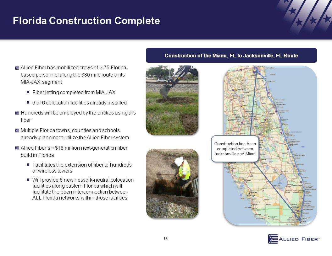 Florida Construction Complete