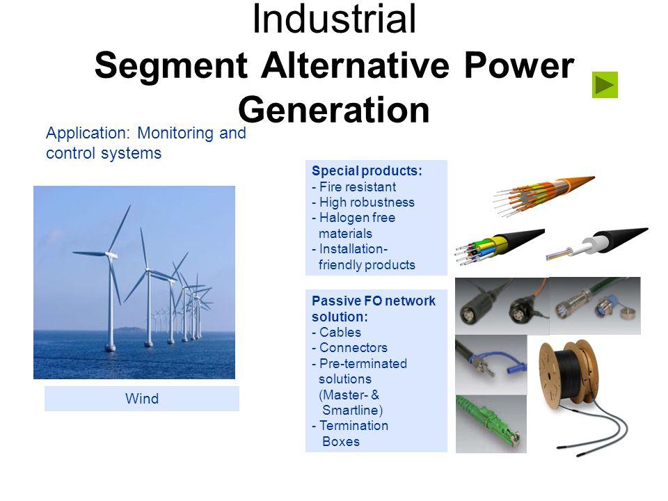 Industrial Segment Alternative Power Generation