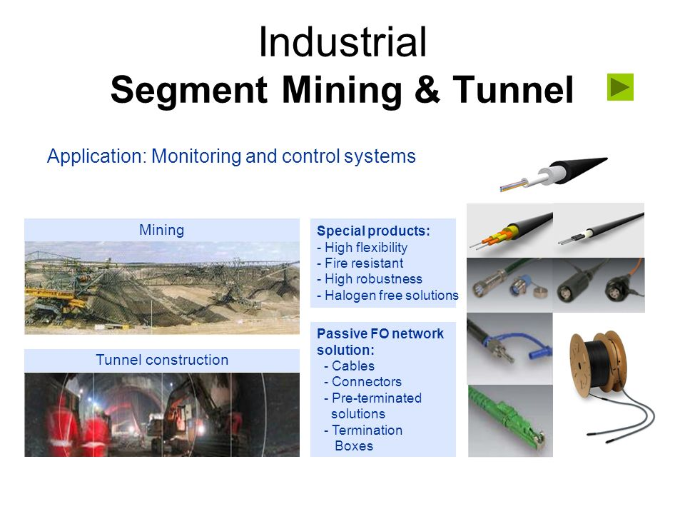 Industrial Segment Mining & Tunnel