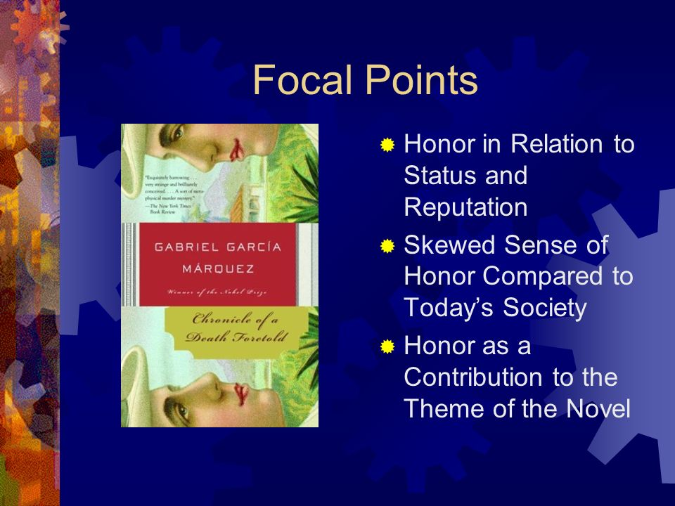 Focal Points Honor in Relation to Status and Reputation