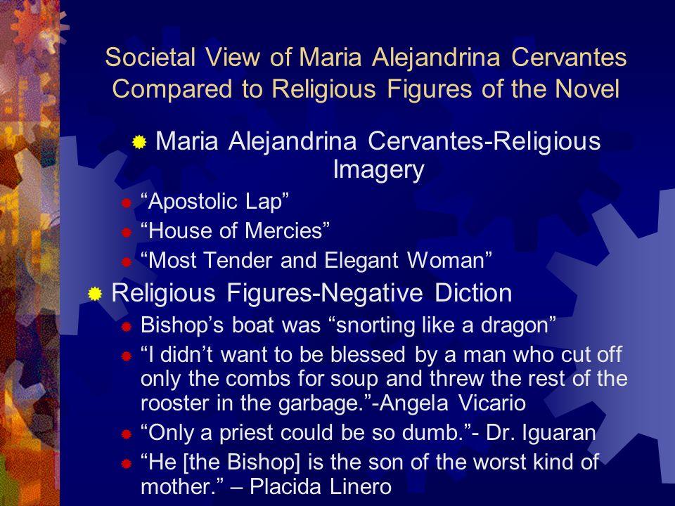 Maria Alejandrina Cervantes-Religious Imagery