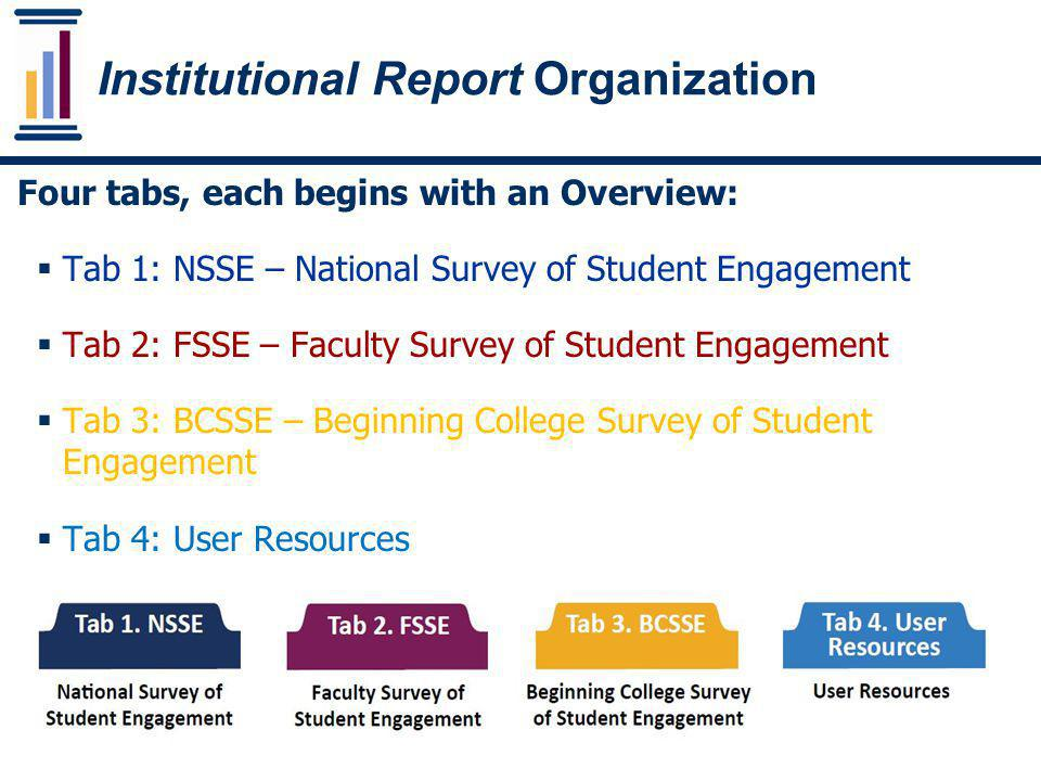 Institutional Report Organization