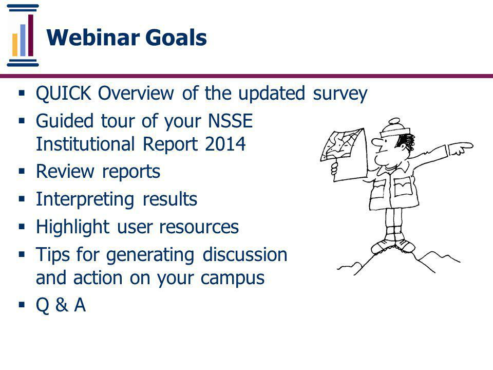 Your Institutional Report 2012 - Step by Step