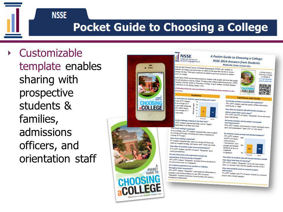 Pocket Guide to Choosing a College