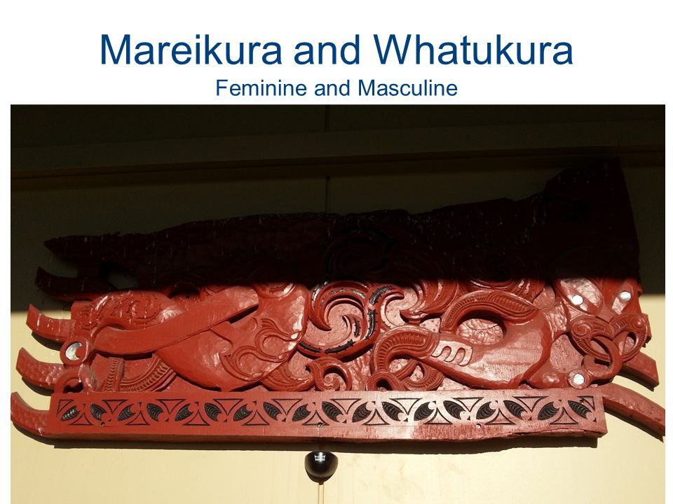 Mareikura and Whatukura Feminine and Masculine