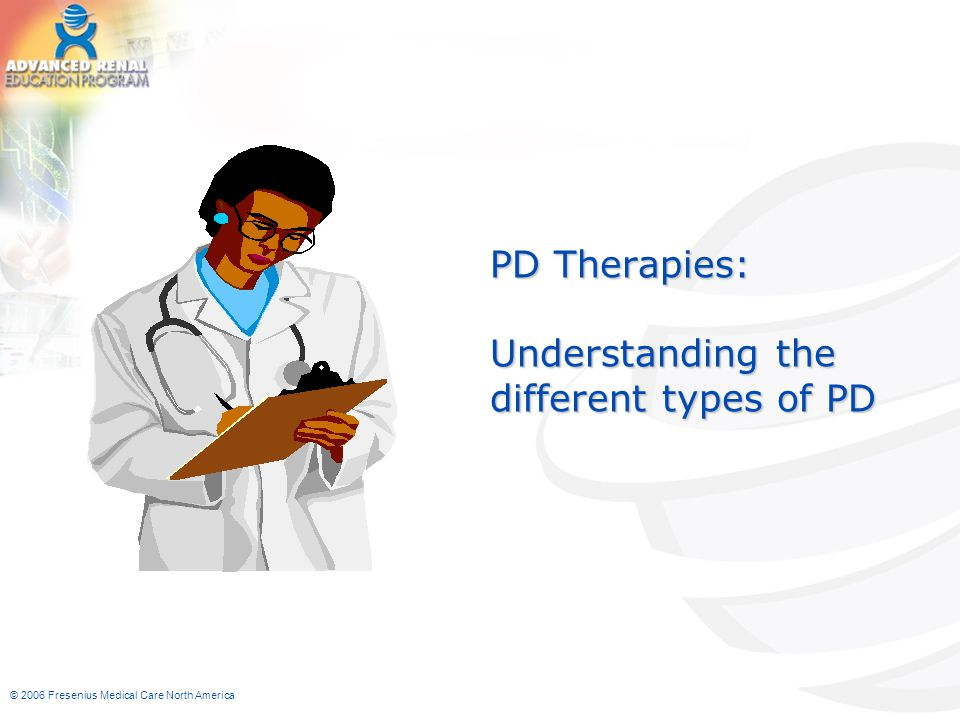 PD Therapies: Understanding the different types of PD