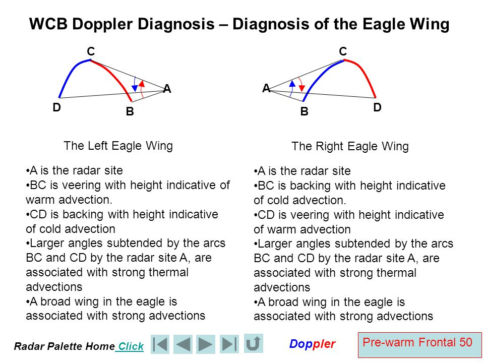 WCB Doppler Diagnosis – Diagnosis of the Eagle Wing