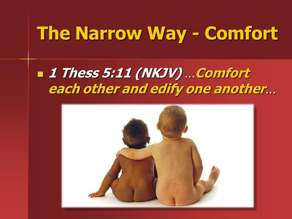 The Narrow Way - Comfort