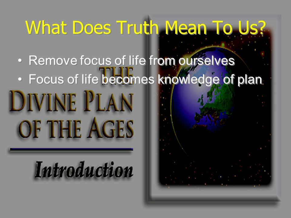 What Does Truth Mean To Us