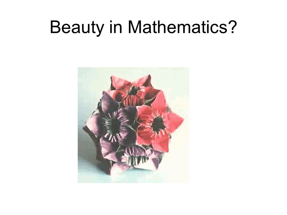 Beauty in Mathematics