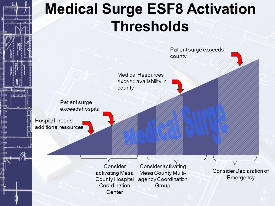 Medical Surge ESF8 Activation Thresholds