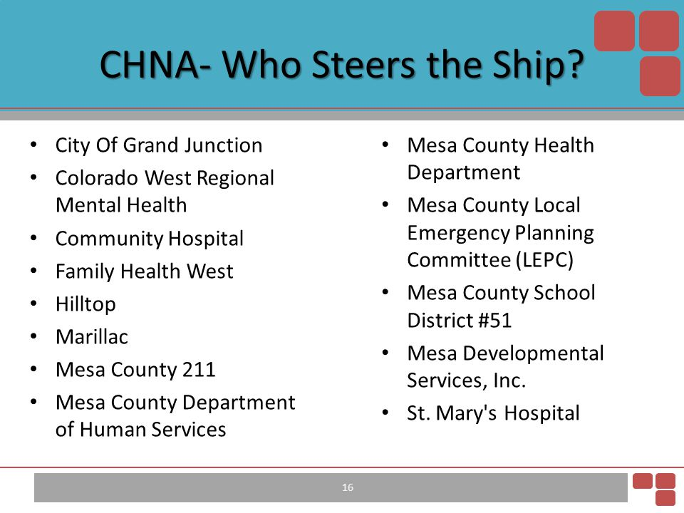 CHNA- Who Steers the Ship