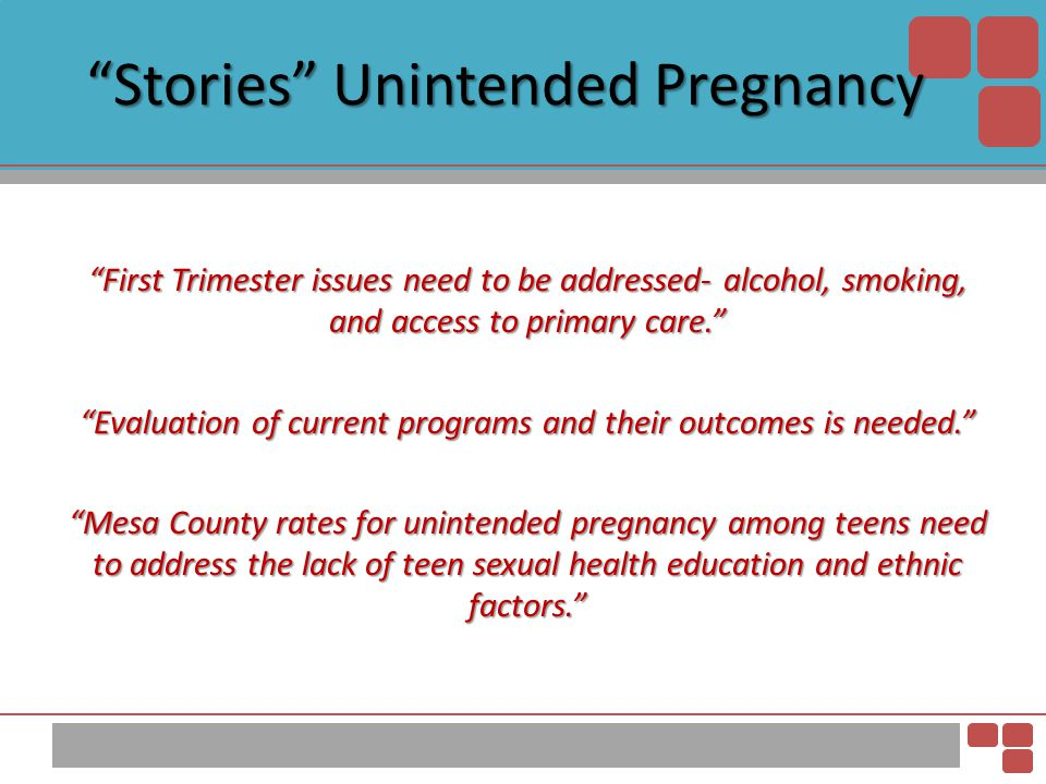 Stories Unintended Pregnancy