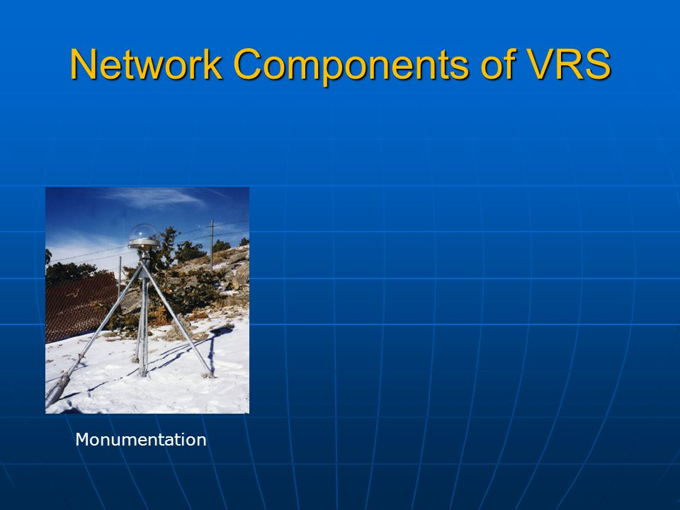 Network Components of VRS