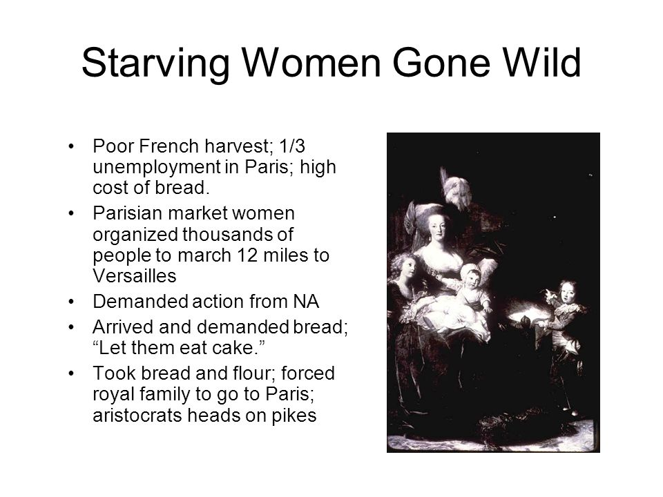 Starving Women Gone Wild