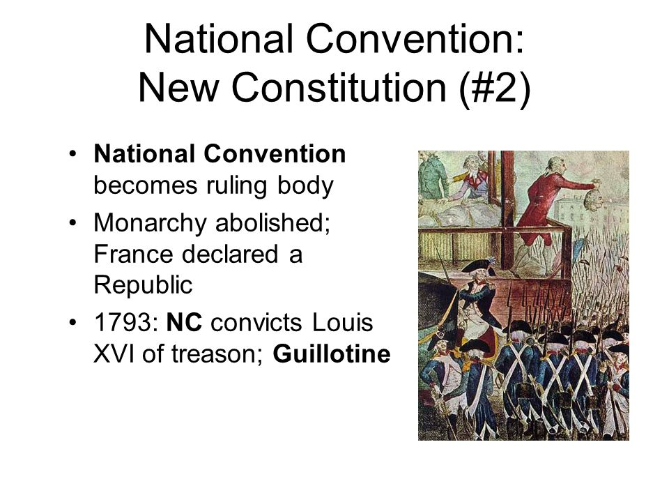 National Convention: New Constitution (#2)
