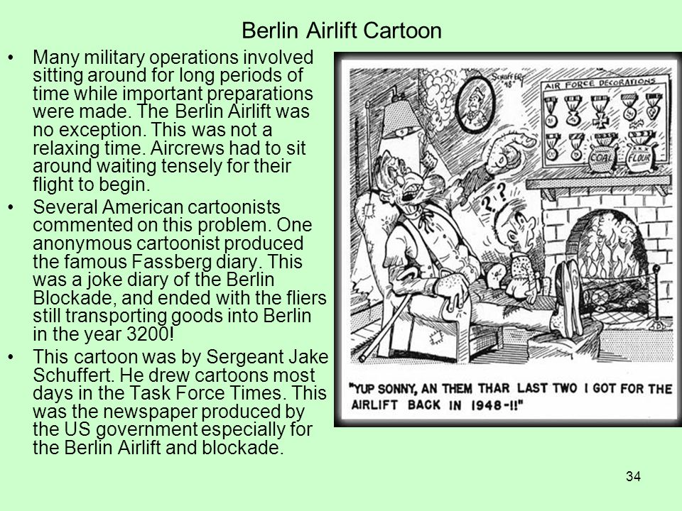 Berlin Airlift Cartoon