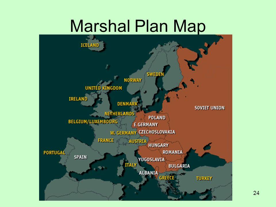 Marshal Plan Map