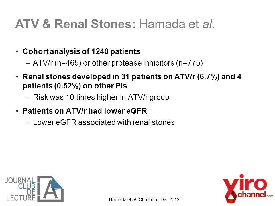 Hamada et al. Clin Infect Dis, 2012