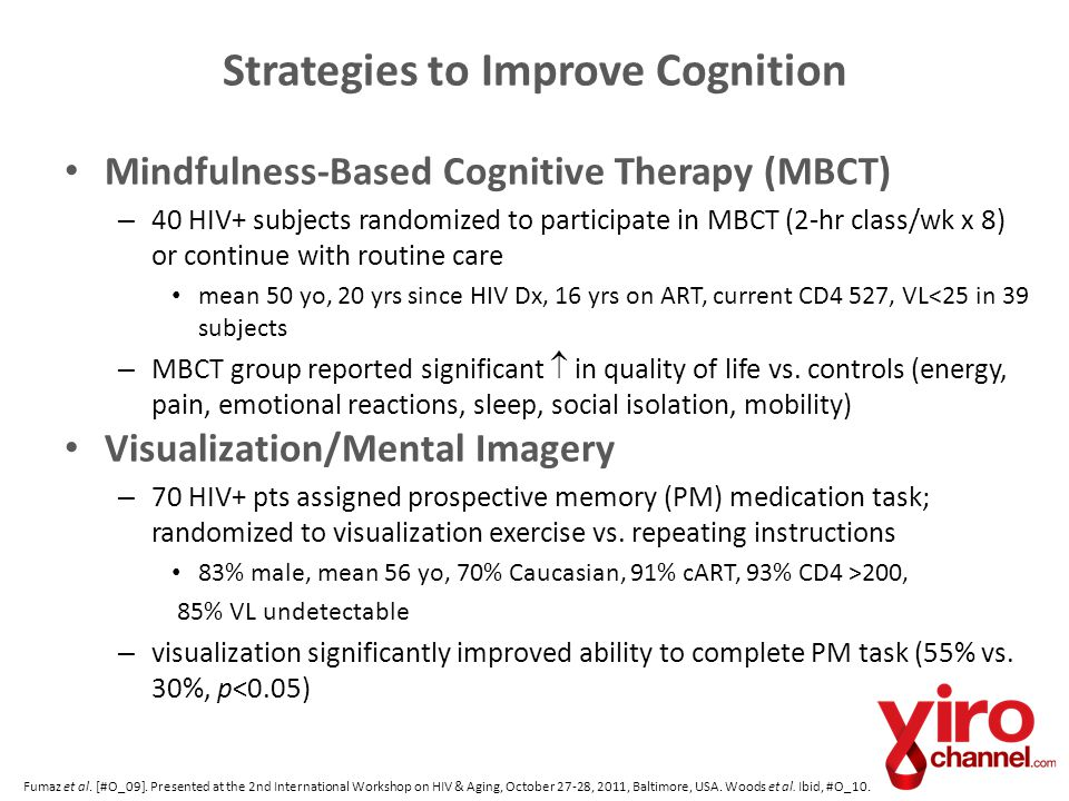 Strategies to Improve Cognition