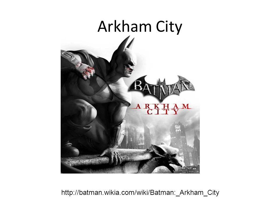 Arkham City http://batman.wikia.com/wiki/Batman:_Arkham_City