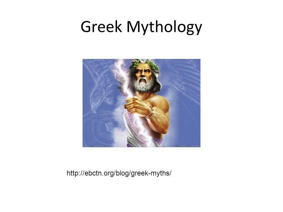 Greek Mythology http://ebctn.org/blog/greek-myths/