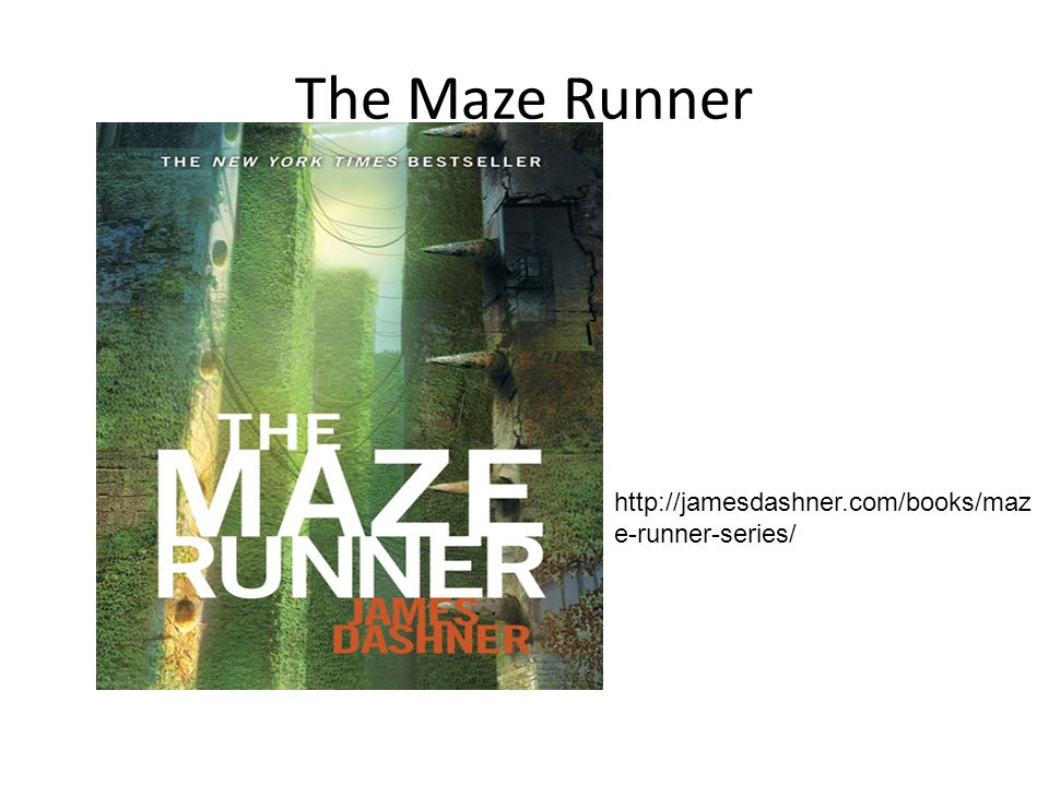 The Maze Runner http://jamesdashner.com/books/maze-runner-series/