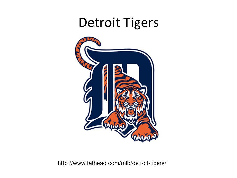 Detroit Tigers http://www.fathead.com/mlb/detroit-tigers/