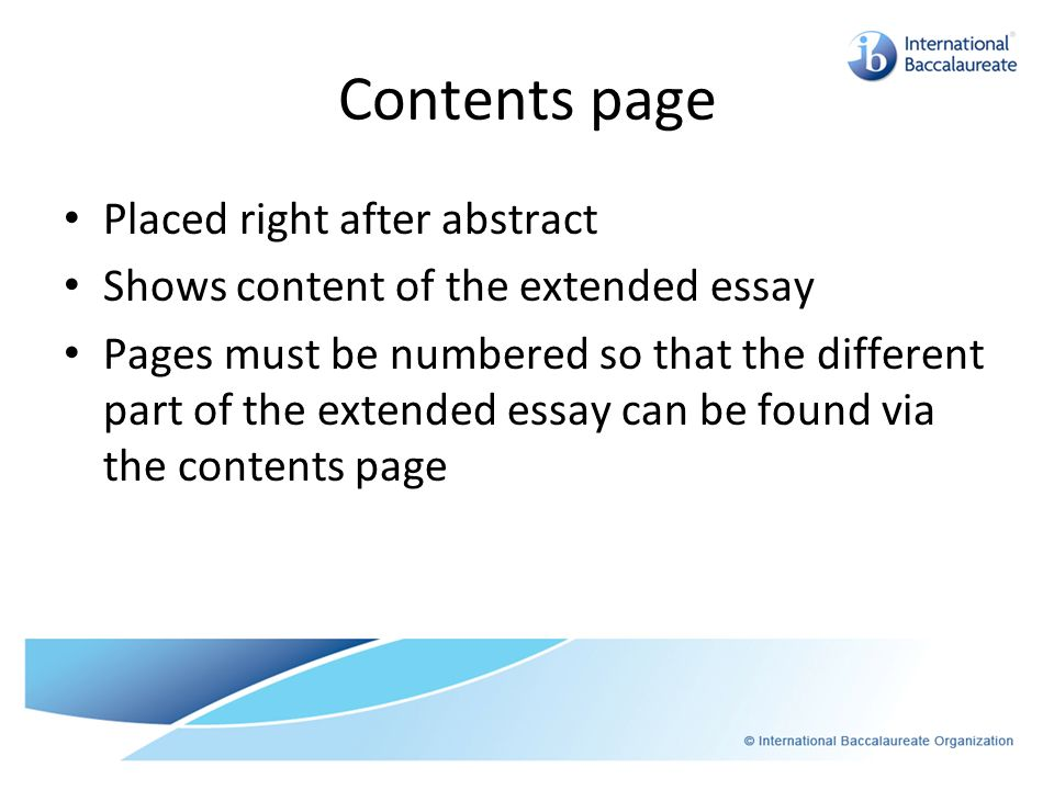 HD Image Of Ib Psychology Extended Essay Abstract Academic Writing Service