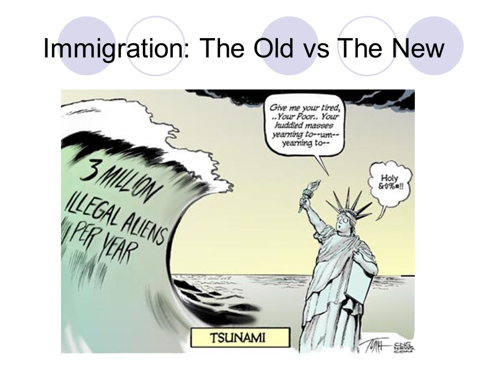 New vs old immigration essay