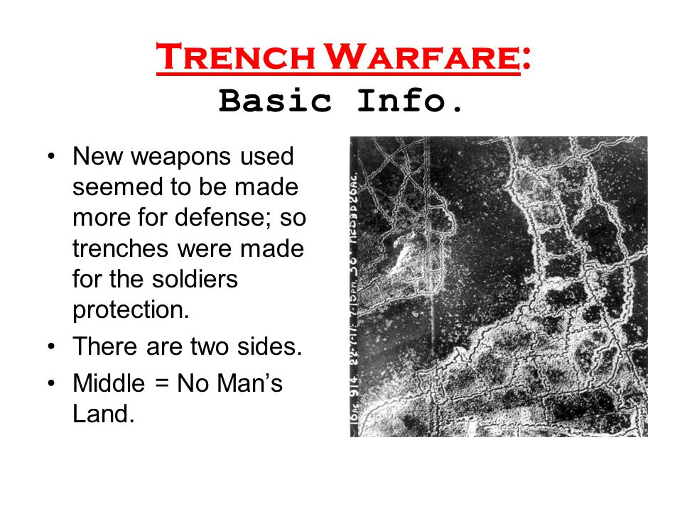 Trench Warfare: Basic Info.