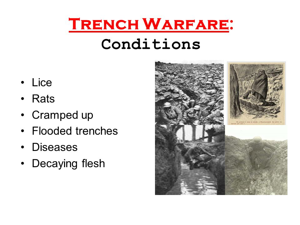 Trench Warfare: Conditions