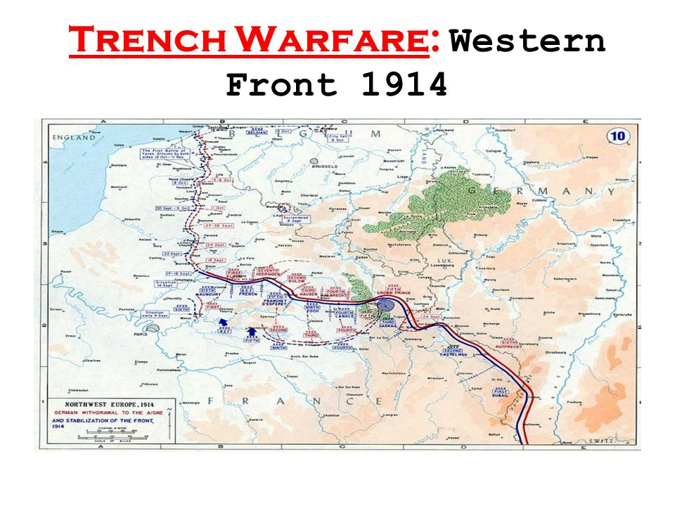 Trench Warfare: Western Front 1914